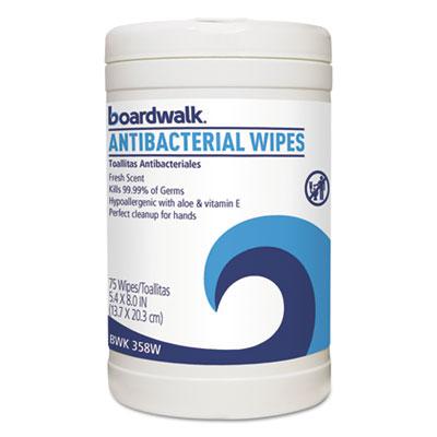Boardwalk® Antibacterial Wipes