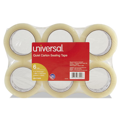 Universal® Quiet Tape Box Sealing Tape