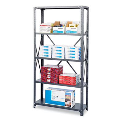 Safco® Heavy-Duty Commercial Steel Shelving Unit