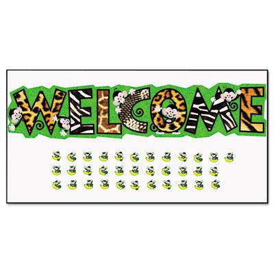 TREND® Monkey Mischief™ Welcome Bulletin Board Set