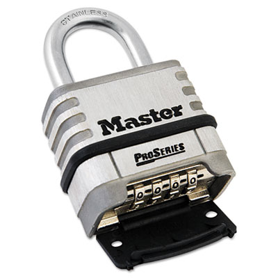 Master Lock® ProSeries Stainless Steel Easy-to-Set Combination Lock