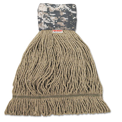 Boardwalk® Patriot Looped End Wide Band Mop Head