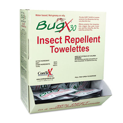 BugX® Insect Repellent Towelette
