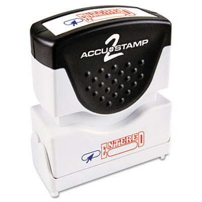 ACCUSTAMP2® Pre-Inked Shutter Stamp with Microban®