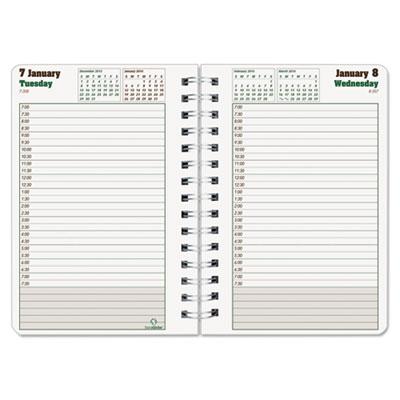 Blueline® DuraGlobe™ Daily Planner