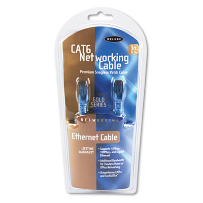Belkin® CAT6 UTP Computer Patch Cable