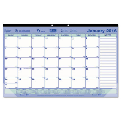 Brownline® Monthly Desk Pad Calendar