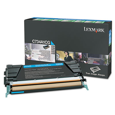 Lexmark™ C748H1YG, C748H1MG, C78H1CG Toner