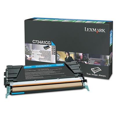 Lexmark™ X748H1YG, X748H1MG, X748H1CG Toner