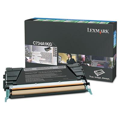 Lexmark™ C746A1KG, C746A1MG, C746A1YG, C746A1CG Toner