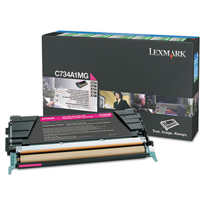Lexmark™ X746H1KG, X746A1YG, X746A1MG, X746A1CG Toner