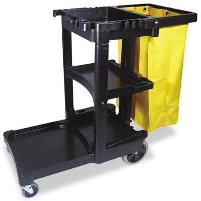 Rubbermaid® Commercial Multi-Shelf Cleaning Cart