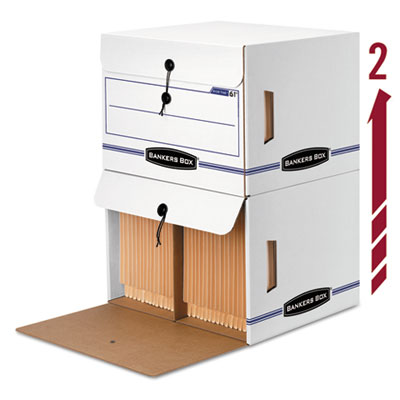 Bankers Box® SIDE-TAB™ Storage Boxes