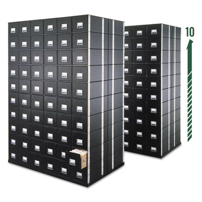 Bankers Box® STAXONSTEEL® Maximum Space-Saving Storage Drawers