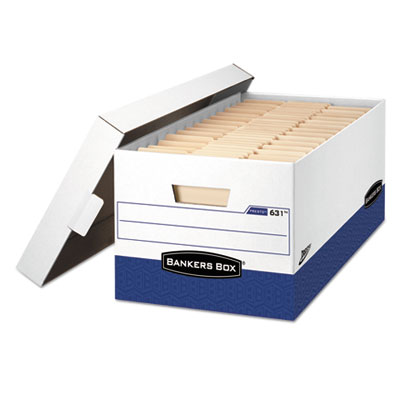 Bankers Box® PRESTO™ Heavy-Duty Storage Boxes