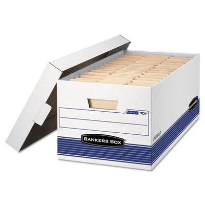 "Bankers Box® STOR/FILE™ Medium-Duty 24"" Storage Boxes"