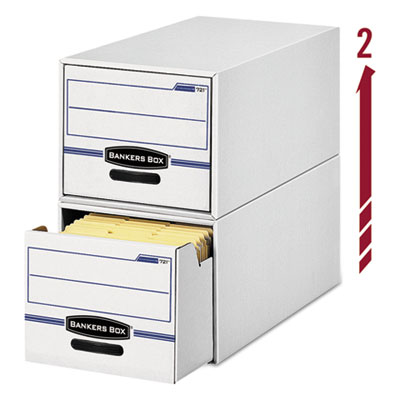 Bankers Box® STOR/DRAWER® Basic Space-Savings Storage Drawers