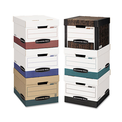 Bankers Box® R-KIVE® Heavy-Duty Storage Boxes