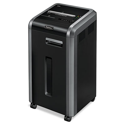 Fellowes® Powershred® 225i 100% Jam Proof Strip-Cut Shredder
