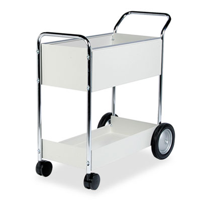 Fellowes® Steel Mail Cart