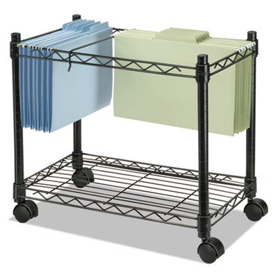 Fellowes® High-Capacity Rolling File Cart