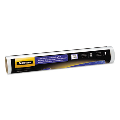 Fellowes® Self-Adhesive Laminating Roll