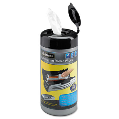 Fellowes® Laminating Roller Wipes