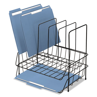 Fellowes® Wire Double Tray with File Sorter