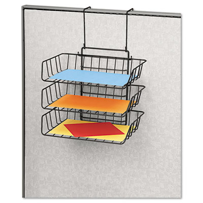 Fellowes® Wire Partition Additions™ Triple Tray