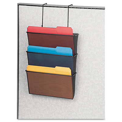 Fellowes® Mesh Partition Additions™ Triple File Pocket