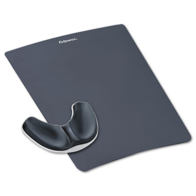 Fellowes® Professional Series Gliding Palm Support with Mouse Pad