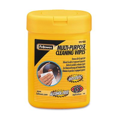 Fellowes® Multipurpose Cleaning Wipes