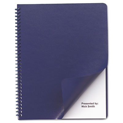 Swingline™ GBC® Leather-Look Presentation Covers for Binding Systems
