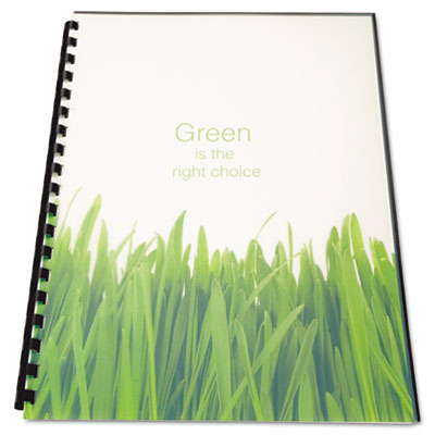Swingline™ GBC® 100% Recycled Poly Binding Cover