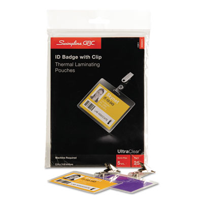 Swingline™ GBC® UltraClear™ Laminating Pouches