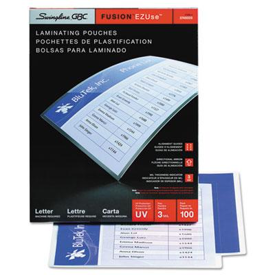 Swingline™ GBC® EZUse™ Premium Laminating Pouches