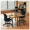 HON® Huddle Series Post Leg Table Base