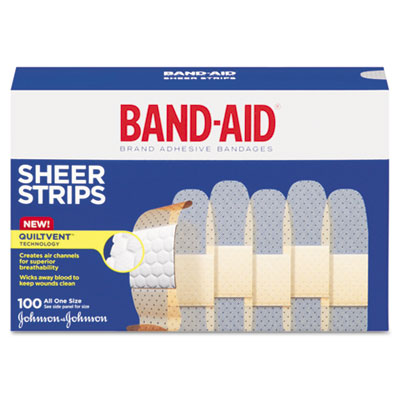 BAND-AID® Sheer Adhesive Bandages