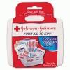 Johnson & Johnson® Red Cross® Mini First Aid to Go®
