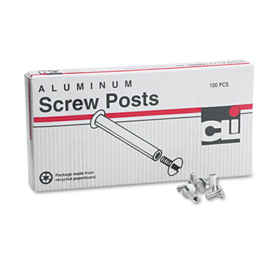 Charles Leonard® Aluminum Screw Posts