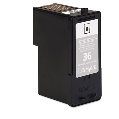 Lexmark™ 18C2130, 18C2140 Inkjet Cartridge, Return Program