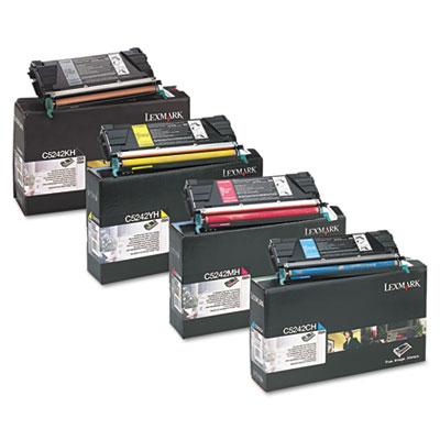Lexmark™ C5240CH, C5240KH, C5240MH, C5240YH, C5242CH, C5242KH, C5242MH, C5242YH Toner Cartridge