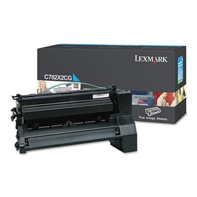 Lexmark™ C782X2CG, C782X2KG, C782X2MG, C782X2YG Extra High-Yield Toner