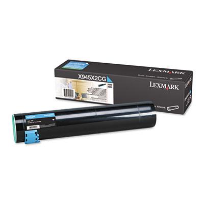 Lexmark™ X945X2CG, X945X2KG, X945X2MG, X945X2YG High-Yield Laser Cartridge