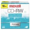 Maxell® CD-RW Rewritable Disc