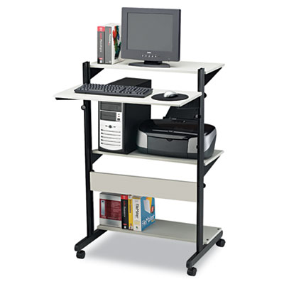Mayline® Soho™ Adjustable Mobile Computer Table