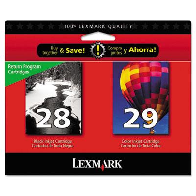 Lexmark™ 18C1590 28/29 Inkjet Cartridge Combo Pack