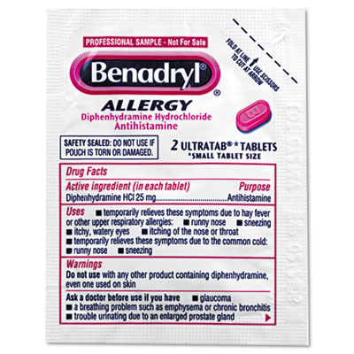 Benadryl® Allergy Ultratabs