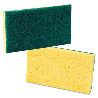 Boardwalk® Medium-Duty Scrubbing Sponge
