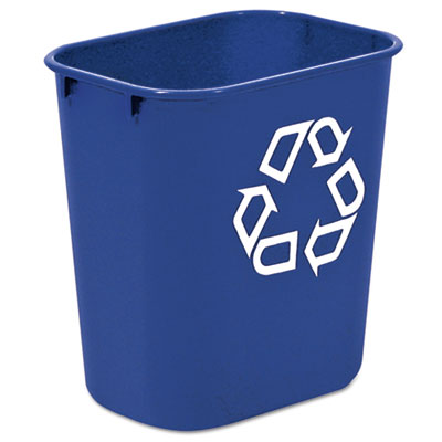 Rubbermaid® Commercial Deskside Recycling Container